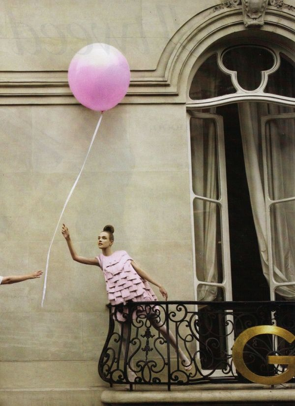Гуру модной фотографии Патрик Демаршелье -Наталья Водянова