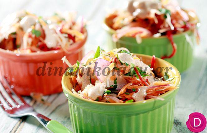 Λαχανοσαλάτα Κόλσλοου | Dina Nikolaou