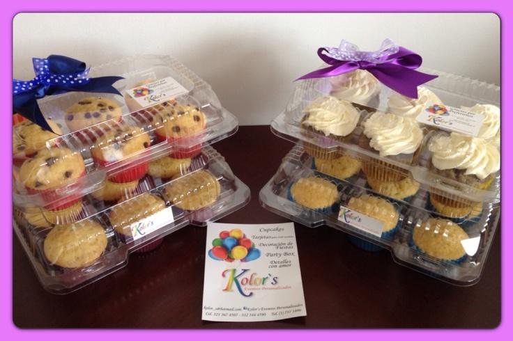 Cupcakes variaditos para onces