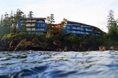 Black Rock Oceanfront Resort (Ucluelet, British Columbia) - ResortsandLodges.com #Travel #vacation #ocean #Canada