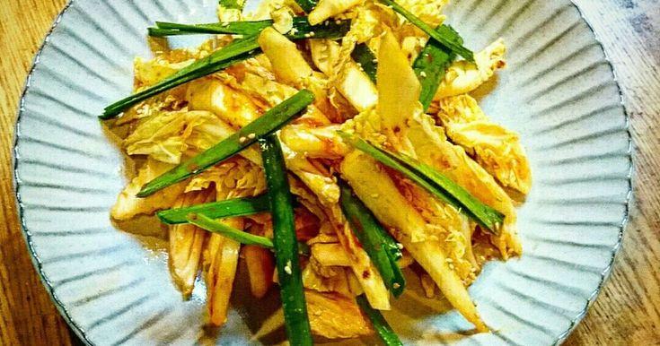 甘辛生キムチサラダ by KUNKUN1978 【クックパッド】 簡単おいしいみんなのレシピが279万品