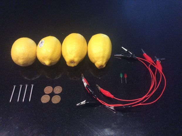 Picture of Lemon Batteries: Lighting an LED with Lemons