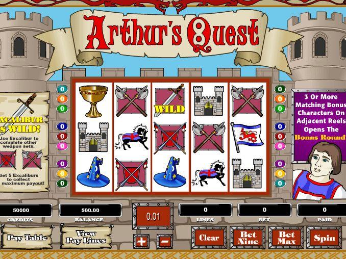 Arthur's Quest - http://freeslots77.com/pt/slot-arthurs-quest-free-online - http://freeslots77.com/pt