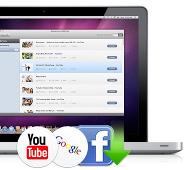 Free YouTube downloader for Mac. Also offers a paid version.