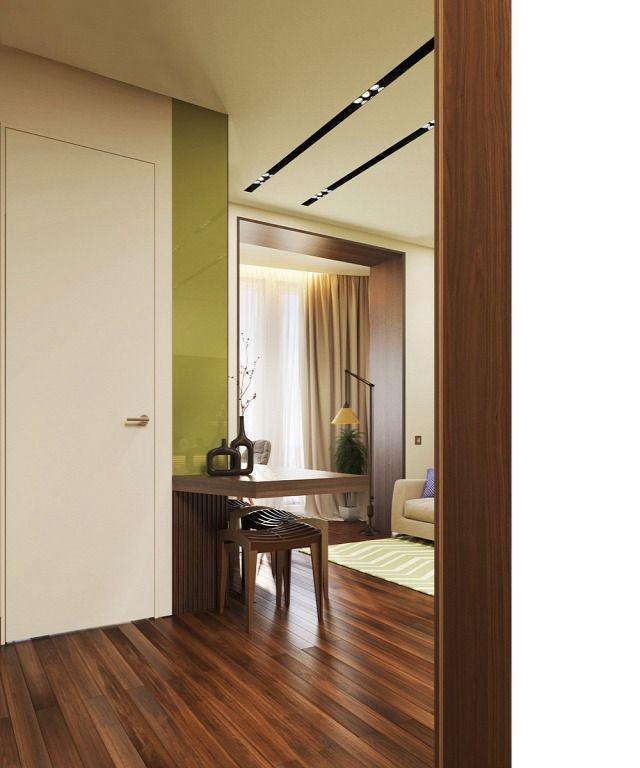Otthon, édes otthon - modern 50 m2 lakás egy 3 fős családnak (3D látványterv) - Inspiráló otthonok