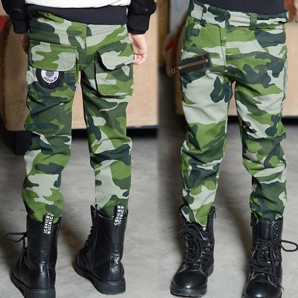Камуфляжные штаны малыша детей мальчики мужская свободного покроя стильные камо брюки горячая