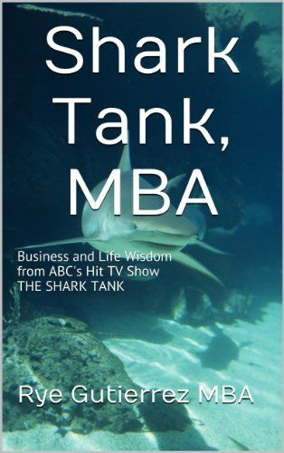 "I run a business right now and watching the popular reality TV show ""Shark Tank"" has been a tremendous help to me professionally and personally. Stephen Covey once said: ""Begin with the end in mind."" Seeing and learning from the sharks we see the end that we want, not just in business but in life!  Most importantly we learn financial literacy:  1. Business ideas and the execution of them are important in the beginning ...."