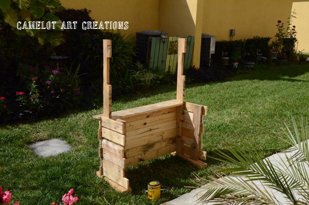 DIY Pallet Child Stand :: Hometalk