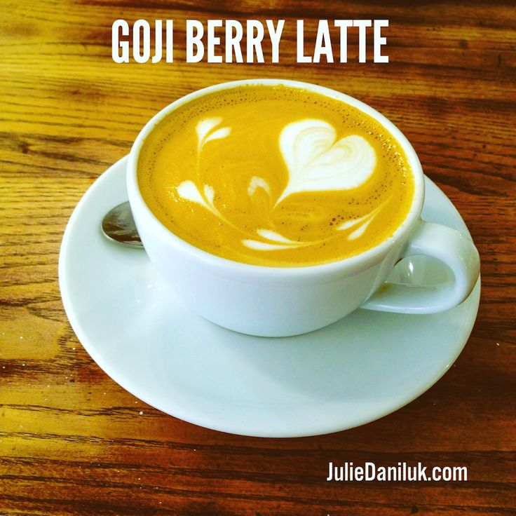 Goji Berry Spice Latte