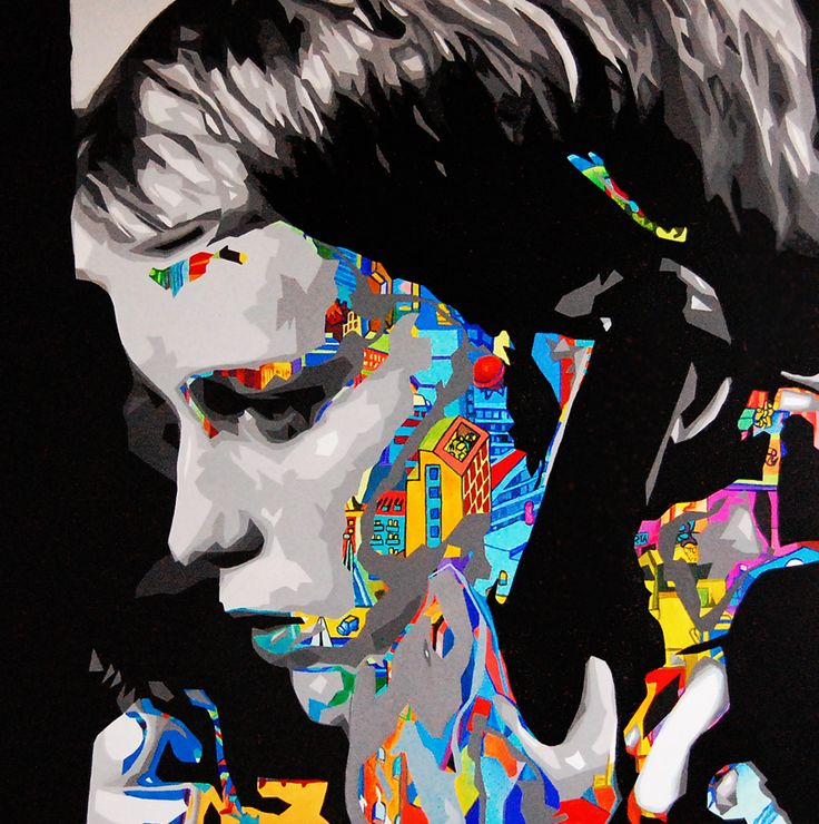 Halo by Marta Frej  acrylic on canvas