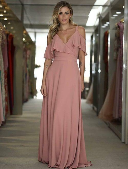 Inspiração: vestidos rosa para madrinhas! | Dresses, Fashion dresses, Formal dresses