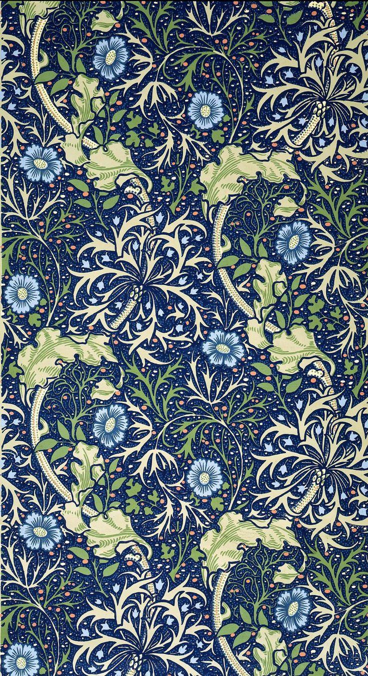 Wallpaper, William Morris 1896