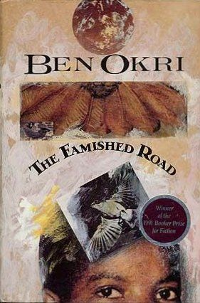 The Famished Road by Ben Okri http://www.amazon.com/dp/0385424760/ref=cm_sw_r_pi_dp_Jttwvb1TDXSC7
