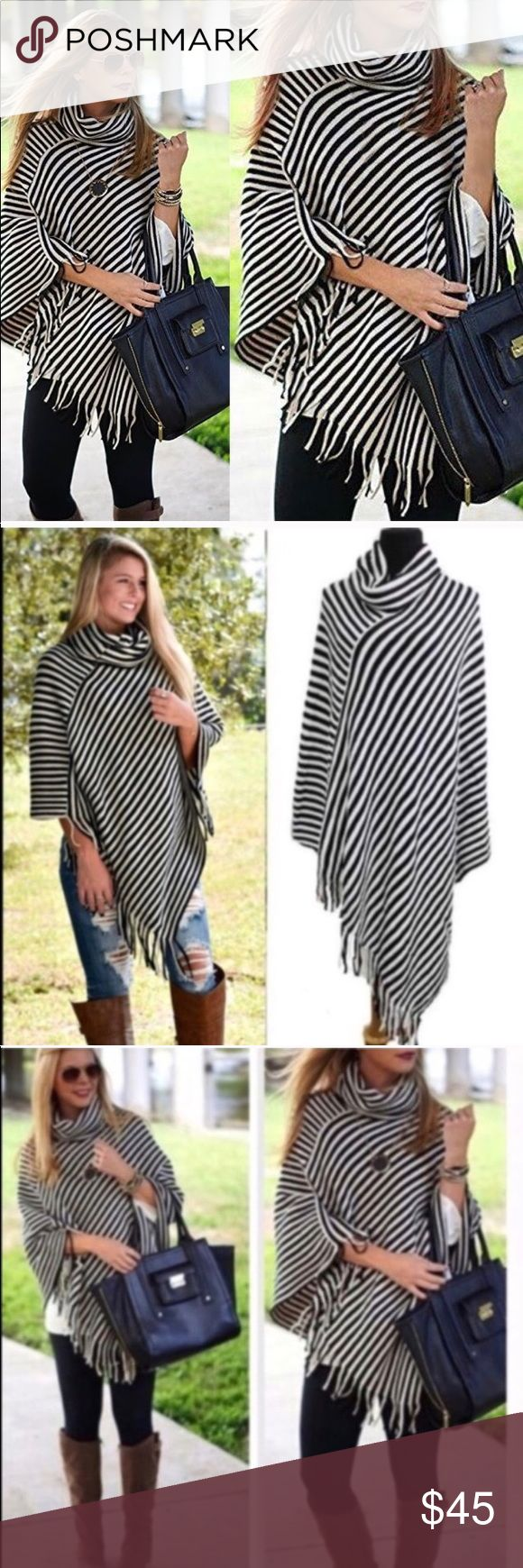 TODAY ONLY FOR THE LAST ONE... GOING ON SALE Gorgeous poncho!!! Accessories