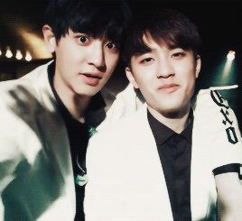 hmm... one who just has to smile and becomes squishy...while the other who is naturally squishy....