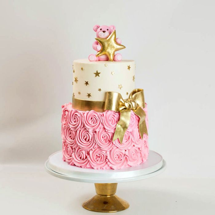 Ideas for the most beautiful cake for baptism and practical tips for babies big day  – Torten Ideen und Rezepte