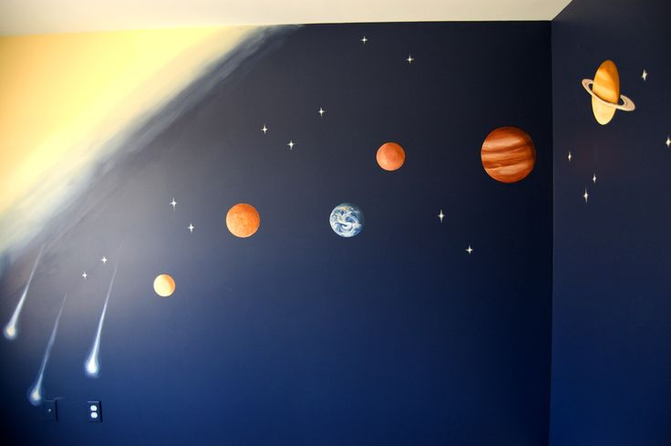 solar system on ceiling paint - photo #8