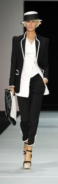Emporio Armani Spring 2012 Ready-to-Wear Fashion Show
