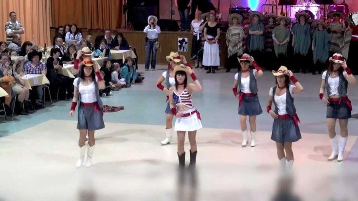 Wild West Dancers: Say Hello (Line Dance)