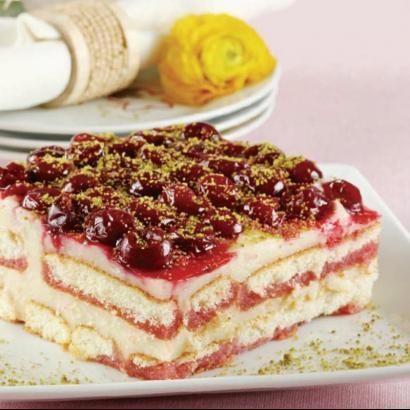 Vişneli Kedidili Pastası nasıl yapılır? Vişneli Kedidili Pastası resimli anlatımı ve deneyenlerin fotoğrafları için tıklayın - Oktay Usta