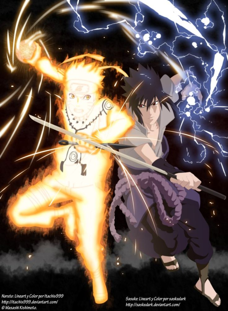 Naruto vs Sasuke Collab by Itachis999 on DeviantArt