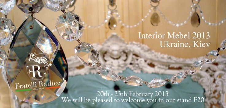 Dear sirs,  we will be pleased to welcome you in our stand F20    Best regards  F.lli Radice