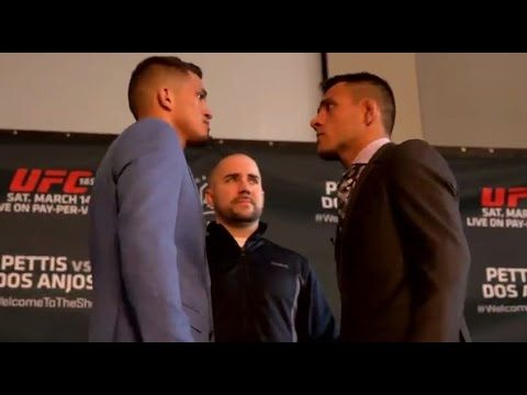 UFC 185 Media Day Staredowns: Pettis - Anjos, Esparza - Jedzejczyk & More | eFightNews