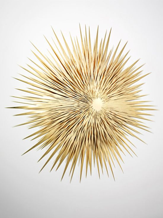 Norman Mooney sculpture. #art #installation #abstract #star #sun #rays #aluminum #artist #christmas #red #gold