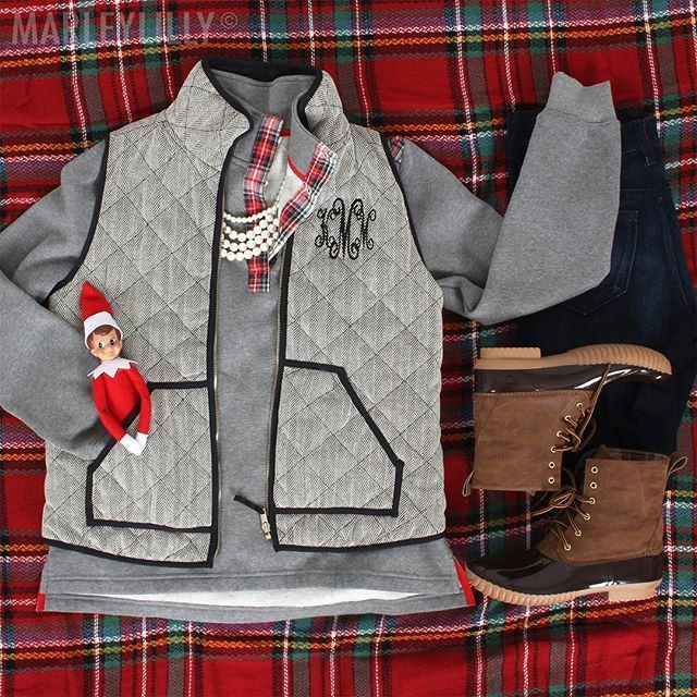 Christmas is calling- answer with your favorite styles from Marleylilly! 🎅❤️🎄 Vest, pullover, & duck boots all ON SALE! Shop & save by clicking the link in our bio! Hurry- sale ends TONIGHT!