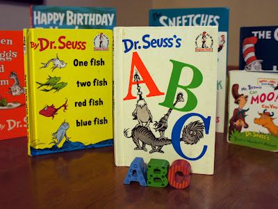 Dr. Seuss ABC book inspired craft, snack, and center activities for toddlers and preschoolers @ Mommy and Me Book Club.