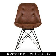 rhombus chair tan