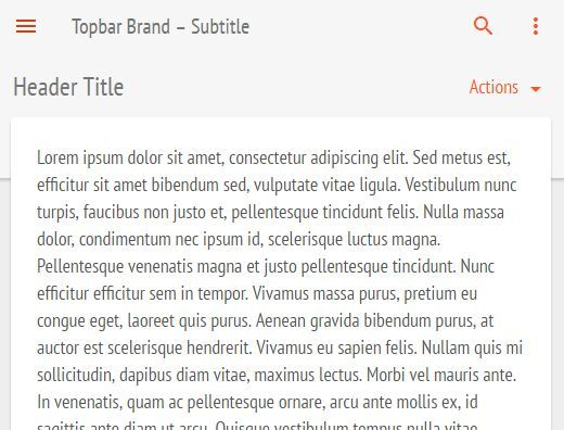 topbar is a smart #jQuery sticky navigation plugin that automatically displays the site navigation sliding down from the top when you scroll up the webpage.