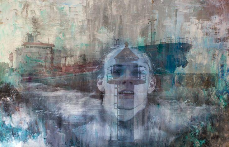 """""""Emerge"""", Mixed Media,  2016"""
