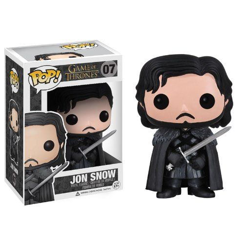 Funko - Bobugt007 - Figurine Cinéma - Game Of Thrones - Bobble Head Pop 07 Jon Snow!: Amazon.fr: Jeux et Jouets