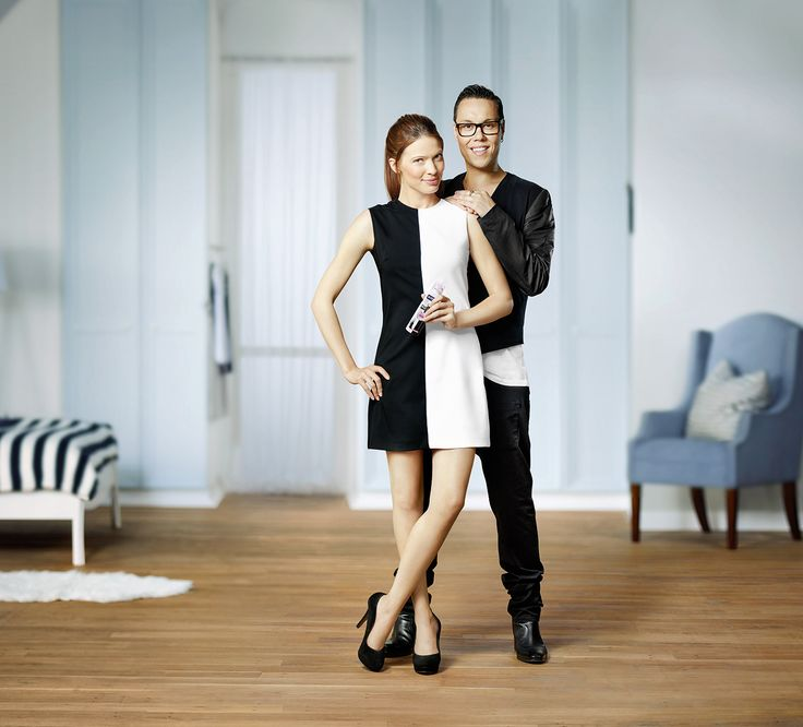 Campaign for Nivea with British stylist Gok Wan.