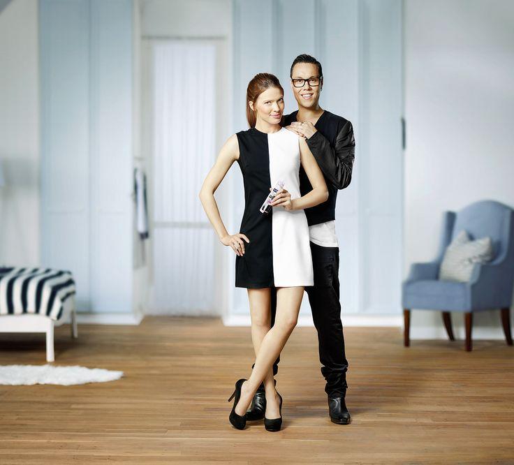 Campaign for Nivea with British stylist Gok Wan.
