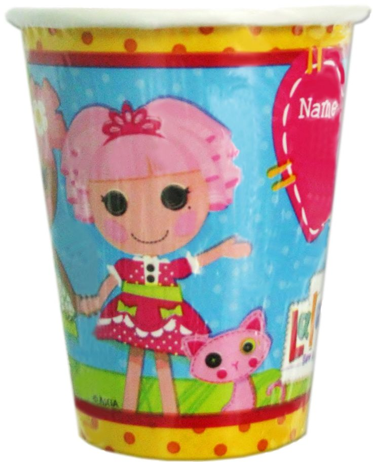 Lalaloopsy-Table-Paper-Cups