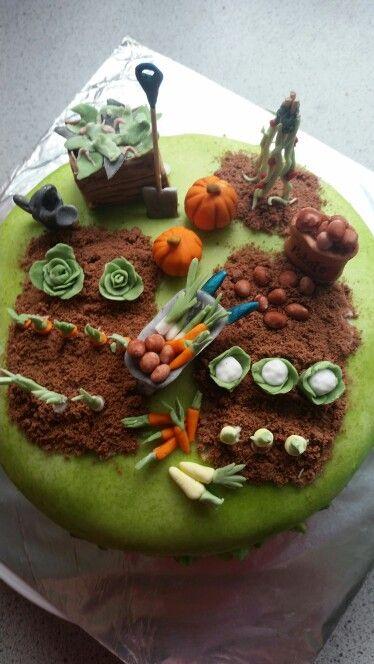Allotment cake x