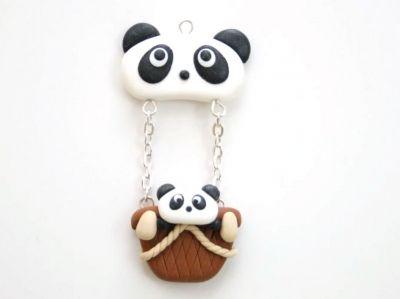 La montgolfière Panda