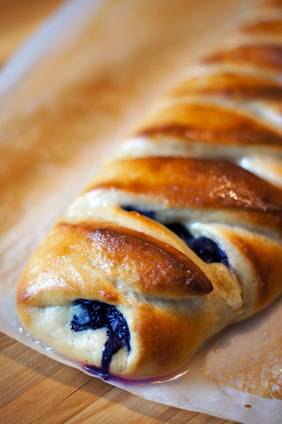Easy Blueberry Cheese Danish (from scratch!) #breakfast #brunch #easter