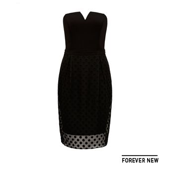 Simple, elegant black dress from @forevernew @westfieldnz #fashionfeast
