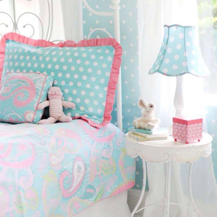 Pink, Green and Aqua Nursery - Project Nursery  |Pink And Aqua Nursery