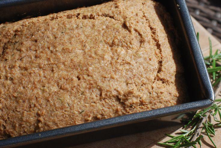 Koolhydraatvrij lijnzaadbrood met rozemarijn