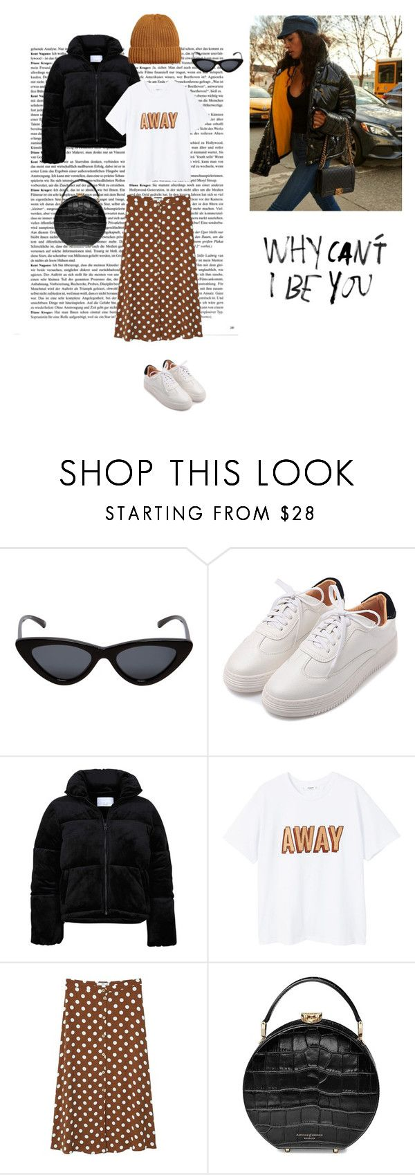 """21/02"" by dorey on Polyvore featuring Le Specs, MANGO, Aspinal of London, StreetStyle and lay"