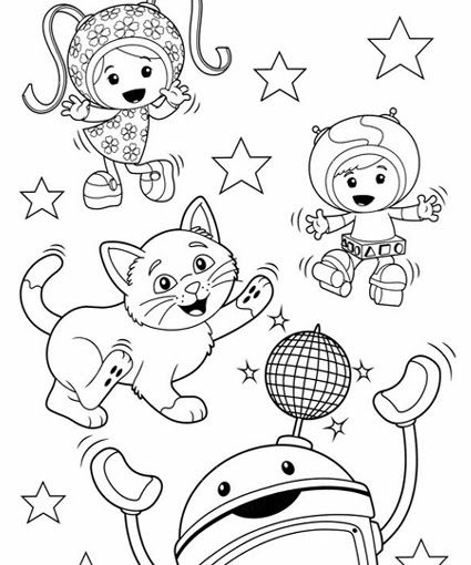 coloring pages chorus - photo#23
