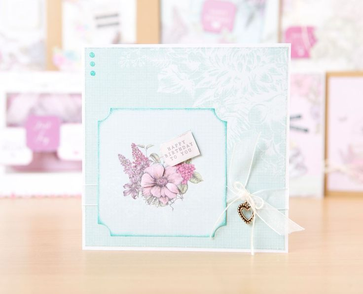 Blooming beautiful! Greeting card made using the @craftworkcards Birds and…