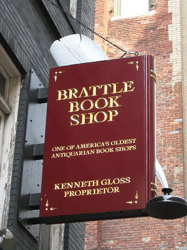 Brattle Book Shop < One of my all-time favorite book stores!