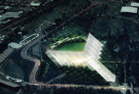 Presenta Diablos Rojos nuevo estadio de beisbol en el DF - Grupo Milenio