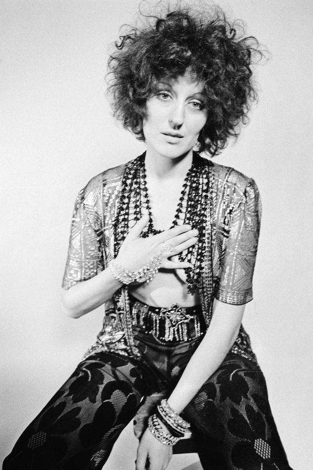 Australian writer and journalist Germaine Greer in a photoshoot
