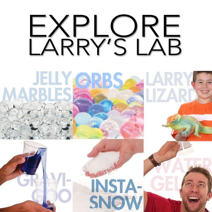 Larry's Lab - Kids' Polymer Science Kit | Steve Spangler Science